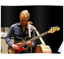 Chris Wood on the Fender Poster