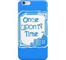 Once Upon A Time in Blue iPhone Case/Skin