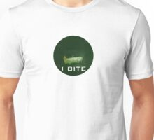 I bite with a deadly toothed fish Unisex T-Shirt