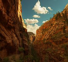 Zion Canyon by Bendinglife