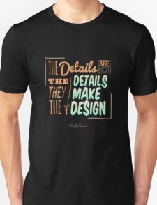Charles Eames Painting Quotes T-Shirt