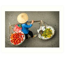 Food Carrier Art Print