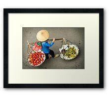 Food Carrier Framed Print