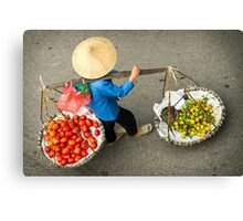 Food Carrier Canvas Print