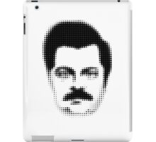 Ron Swanson Retro  iPad Case/Skin