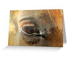 Eye on Joshua Greeting Card