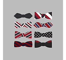heart eyes and bow ties Photographic Print