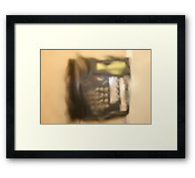 Dripping Dial Tone Framed Print