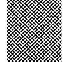 Black and White Truchet Photographic Print