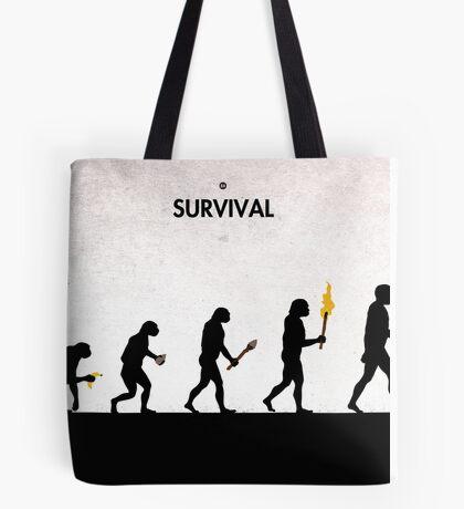 99 Steps of Progress - Survival Tote Bag