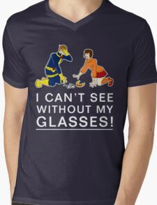 I Can't See Without My Glasses Mens V-Neck T-Shirt