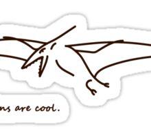 Pteranodons Are Cool (Light Shirt 1) Sticker