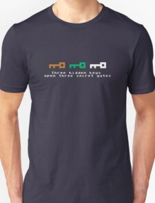 Three Hidden Keys Unisex T-Shirt
