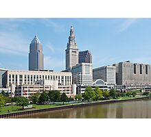 Tower City Skyline Photographic Print