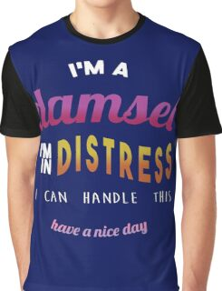 Damsel in Distress Graphic T-Shirt