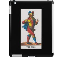 The Fool Tarot iPad Case/Skin