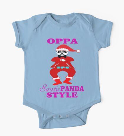 ★ټOppa Santa-Panda Style Hilarious Clothing & Stickersټ★ One Piece - Short Sleeve