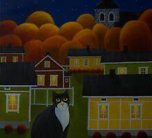 Moonlight night by Veikko  Suikkanen