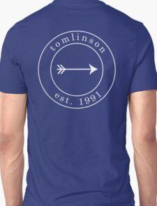 Louis Tomlinson est. 1991 Emblem White Unisex T-Shirt