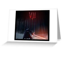Star Wars The Force Awakens Greeting Card
