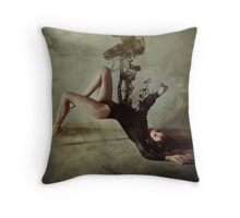 Shadowy, shadowy yet unbroken Throw Pillow