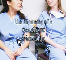 Meredith and Cristina - Beautiful friendship by cristinaandmer