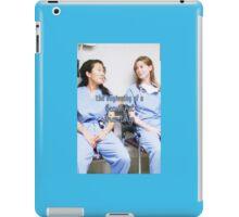Meredith and Cristina - Beautiful friendship iPad Case/Skin