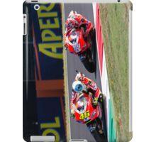 Valentino Rossi & Nicky Hayden in Mugello 2011 iPad Case/Skin