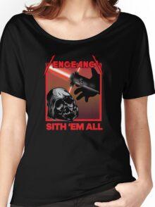 Sith 'em all - Star Wars/Metallica mashup tshirt Women's Relaxed Fit T-Shirt
