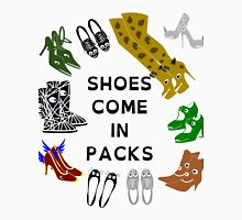Shoes Come In Packs Unisex T-Shirt