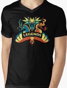 LEGENDS - Gold Mens V-Neck T-Shirt