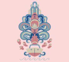 Ponyo Deco One Piece - Short Sleeve