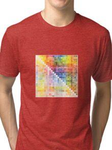 Watercolour Mixing Mega Chart Tri-blend T-Shirt