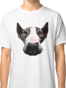 Front Faced Bull Terrier Classic T-Shirt