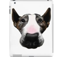 Front Faced Bull Terrier iPad Case/Skin
