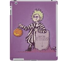 Beetlejuice Trock or Treat iPad Case/Skin