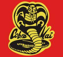 Cobra Kai T-shirt and stickers Kids Clothes