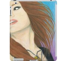 Mia Von Glitz Pencil Drawing iPad Case/Skin