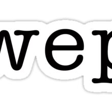 wepa Sticker