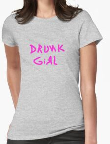 drunk girl funny club pub bar 80s tee T-Shirt