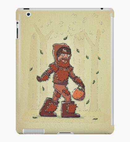 Bigfoot Trick or Treat iPad Case/Skin