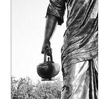 The Wandering Monk by bibinkumar