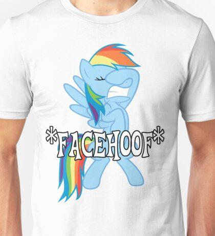 Rainbow Dash *Facehoof* Unisex T-Shirt