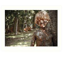 Mud Brother Art Print