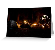 Creature of the Forest Night Greeting Card