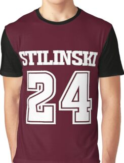 Stiles Stilinski Lacrosse Jersey - Back Graphic T-Shirt