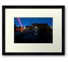 Stimulated Emission Framed Print