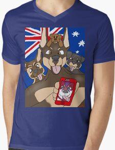 """Not so """"sirius"""" pups Mens V-Neck T-Shirt"""