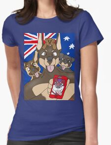 """Not so """"sirius"""" pups Womens Fitted T-Shirt"""