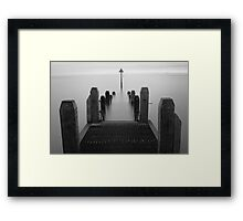 Smoke on the Water (2) Framed Print